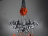 Chandelier with sixteen lights