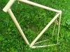 Powdercoated frame of the Bicycle