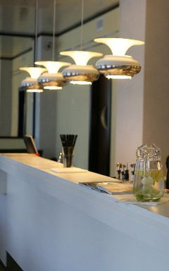 UFO as pendant light