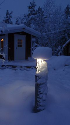 Outdoor light by Olof Smedmark