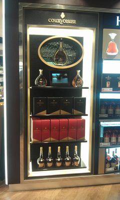 LED-case for Courvoisier Cognac